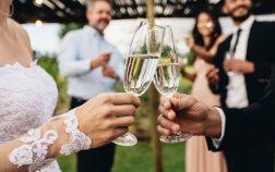 buying liquor in bulk for a wedding
