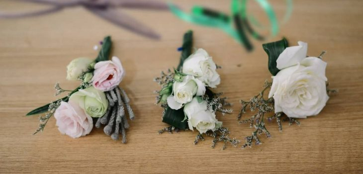 how to make corsages for weddings