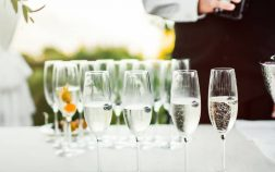 how to serve alcohol at a wedding without a bartender