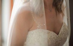 Adding Rhinestones to a Wedding Dress