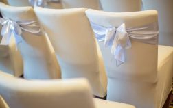Chair Bows for Wedding Receptions