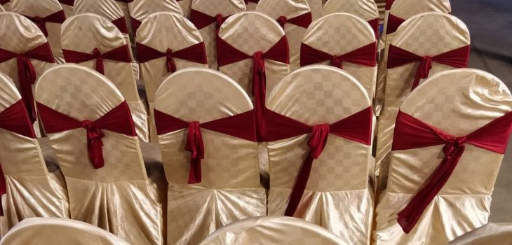 How To Make Wedding Chair Cover
