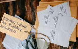 Printing Labels For Wedding Invitations