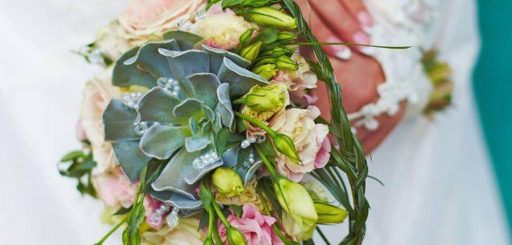 Succulent Wedding Bouquet Cost