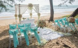 Tiffany Blue And Yellow Weddings
